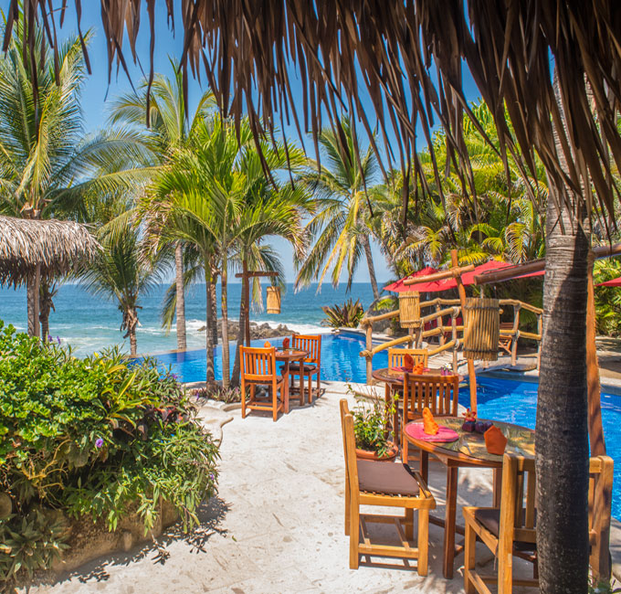 Restaurant Playa Escondida Hotel Sayulita Nayarit Mexico